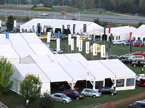 Georgian College Tents